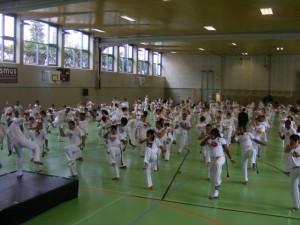Trening na Jogos Europeus.